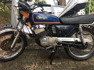 Yamaha RXK for sale 1989 renewable