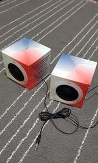 Portable paper box speaker - sgsecure