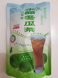 ✈大玩台灣代購✈ 台灣信明食品水晶冬瓜茶20gx5入