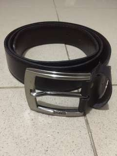 IKAT PINGGANG / BELT BLACK LEATHER LEE ORIGINAL
