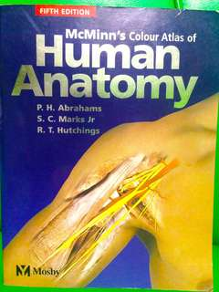 Mcminn's color atlas of human Anatomy
