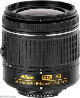Nikon 18-55mm AF-P lens