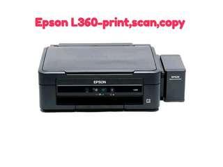 EPSON L360-PRINT, SCAN, COPY