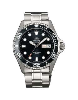 only hk$900, 100% new ORIENT Diver Ray II Automatic Black Dial Men's Watch手錶