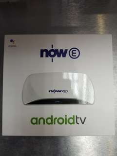 now E android tv box