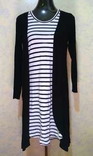 Dress with Long Cardigan