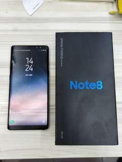 Samsung note 8 (black) *low baller will be block