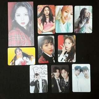 Kpop Official Photocard
