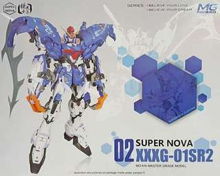 Super Nova 1/100 MG Sandrock Custom 02  XXXG-01SR2