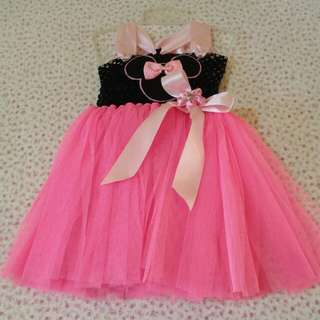 Tutu Gown - 1 to 3 yrs old (Hello Kitty, Elsa & Mickey Mouse)