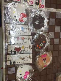 [Instock] Line friends coasters, We bare bear items