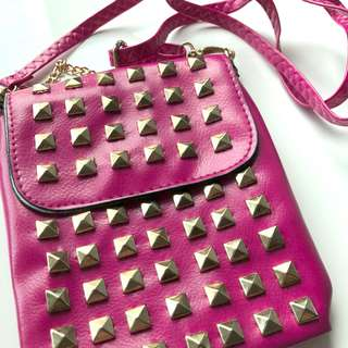 FREE with any purchase over P400    Pink Bag Fendi Inspired