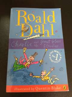 Ronald Dahl Charlie and the Great Glass Elevator