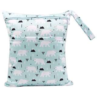 Polar Bear Wet Bag (Double Pockets)