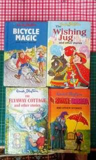 Enid Blyton children story books x 7