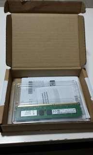 4GB RAM - Micron DDR 3 1600ECC