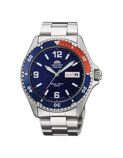 only hk$900, 100% new ORIENT Mako II Automatic Blue Dial Men's Watch手錶.