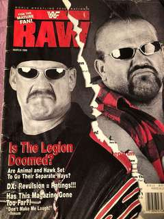 WWE Magazine March 1998