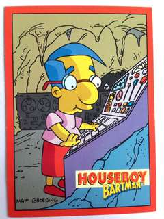 1994 Skybox Simpsons Series 2 - Base Card #B1 - Houseboy