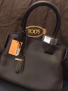 Tod's AMG Shopping Media Tote