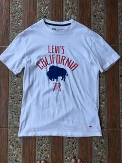 Levi's Kaos not Topman Uniqlo Zara Pull Bear Berskha Vans