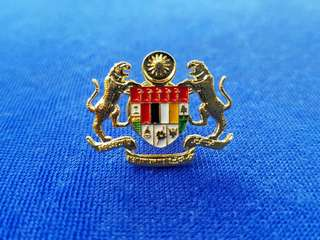 Jata Negara Collar Pin / Lapel Pin