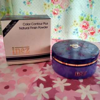Shimer / Colour contour plus natural finish powder INEZ