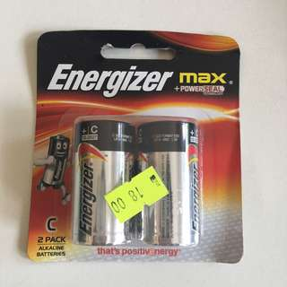 (清貨)勁量C size電池