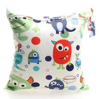 Happy Monster Wet Bag