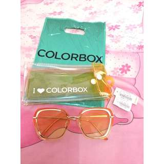 Kacamata Colorbox YELLOW (Sunglasses)