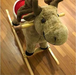 Rocking Horse with Music and Wagging Tail