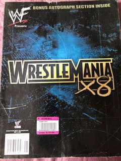 WWE Magazine special. Wrestlemania 18