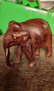 Elephant wood craft  3 inches