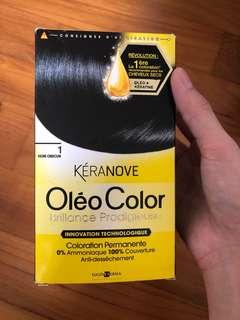 Keranove hair coloring