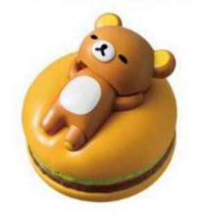 McDonald's Happy Meal Toy Rilakkuma on Hamburger Cute Hard Toys Collection