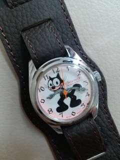 懷舊上鍊 Felix the Cat 時計