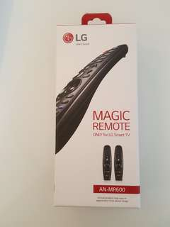 Brand new LG smart tv magic controller