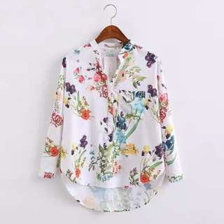 Floral Long Sleeve for Women