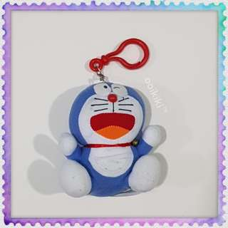 Doraemon Soft Toy Key Ring Chain Cute