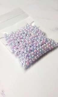 Pastel Pearl Beads Slime