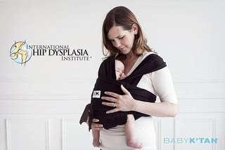 Gendongan Baby K'tan Original Black size S