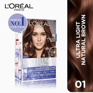 L'Oreal Paris Excellence Fashion Ultra Lights (No. 1 Light Natural Brown)