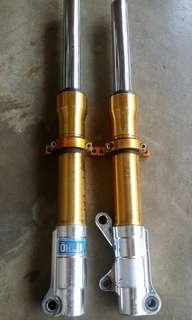Fork dan Disk Yamaha Lc 135.