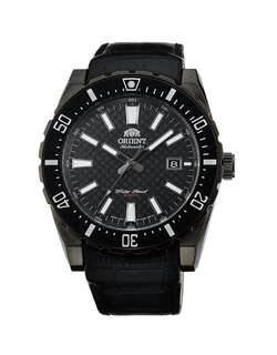 only hk$1199. 100% new ORIENT Diver Nami Diving Automatic Black Dial Men's Watch手錶
