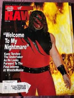 WWE Magazine April 1998