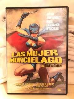 Las Mujer Murcielago (The Batwoman) DVD