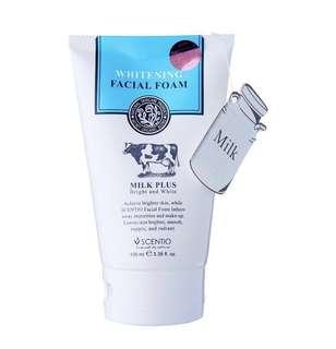 Beauty Buffet Scentio Milk Plus Whitening Q10 facial foam (100ml)