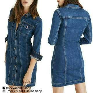 Soft Denim Dress