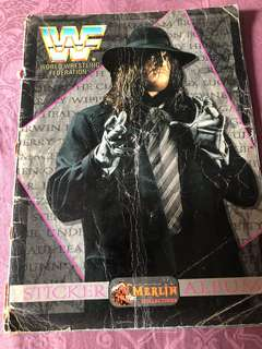WWE Magazine Sticker Album 1994