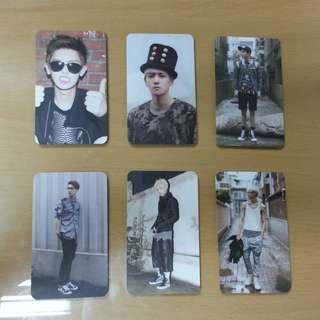 [EXO-K 엑소케이] Growl Unofficial Photocards (Set 1)